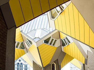 Kubuswoningen in Rotterdam van Ron Poot