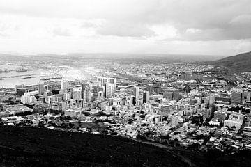 Cape Town Black and White van Erik van Leyden