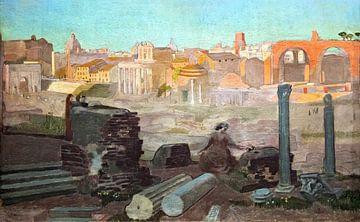 Vue du Forum, Maurice Denis, 1904