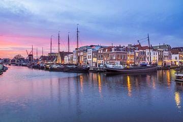 Galgenwater, Leiden van