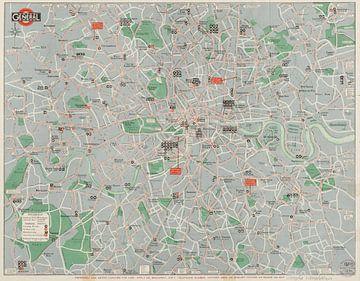 Map of general routes - London sur