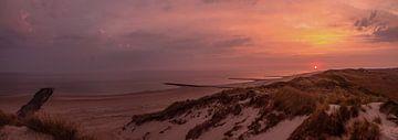 Sonnenaufgang bei Lange Paal von Sébastiaan Stevens