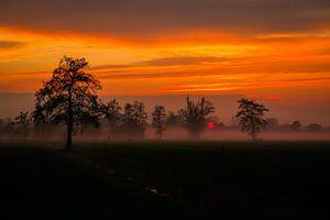 Langbroeks Landschap (Nederland) van Julius Koster