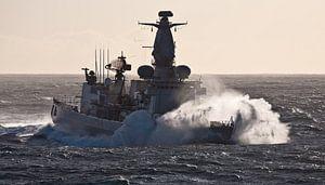 Fregat in de golven - part I