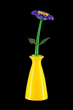 Kugelschreiber Blumenvase von Floris Kok