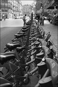 Fietsen in Parijs van Betty Heideman