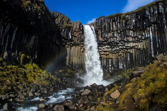 Black Waterfall