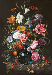 Stillleben mit Blumen in einer Vase von Jan Davidsz