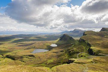Extraterrestrische Landschaft auf der Isle of Skye in Schottland von Reis Genie