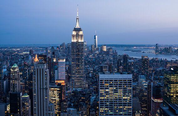New York City Skyline II van Dennis Wierenga