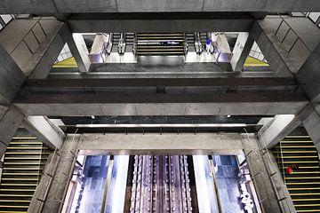 Lissabon Underground 1 sur Dennis van de Water