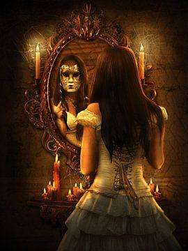 Spiegelbeeld van Babette van den Berg