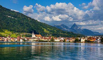 Blick auf Arth am Zugersee, Schweiz von Adelheid Smitt