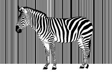 Zebra Barcode van Monika Jüngling