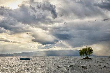 Sturm über den See von Cor de Hamer
