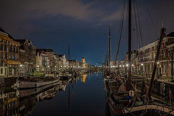 Rotterdam Delfshaven von Jos Erkamp