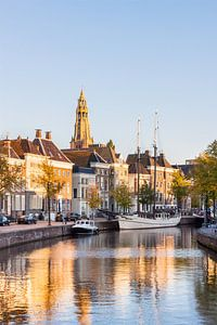 Last Sunlight on the Hoge der A Groningen