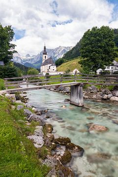 Pfarrkirche St. Sebastian im Bergsteigerdorf Ramsau
