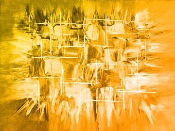 Explosion gelb von Katrin Behr