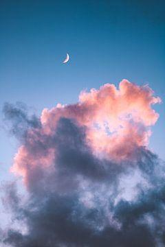 lucht zonsondergang van Isa V