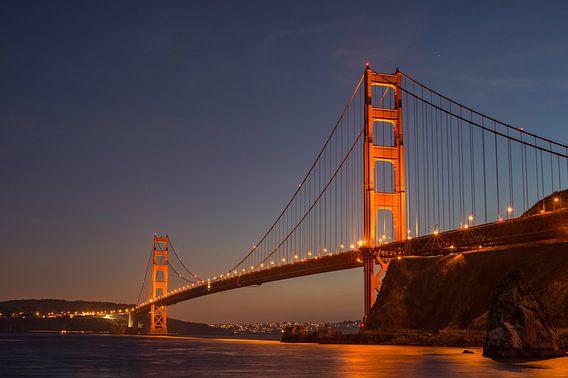 Golden Gate Bridge van Hans Kool