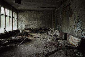 Krankenhaus Tschernobyl 1 von Kirsten Scholten