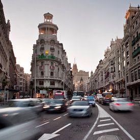 Madrid, Gran Via van Jan Sluijter