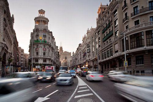 Madrid, Gran Via van