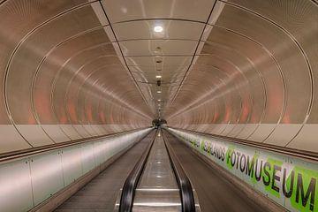 metro tunnel Rottterdam van Riccardo van Iersel