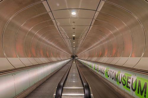 metro tunnel Rottterdam van