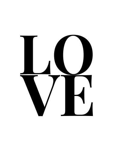 Lover (zwart/wit)