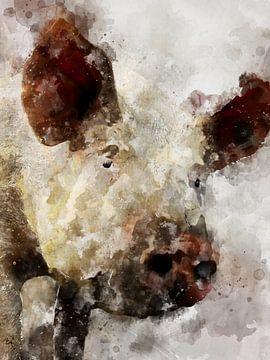Schwein van Printed Artings