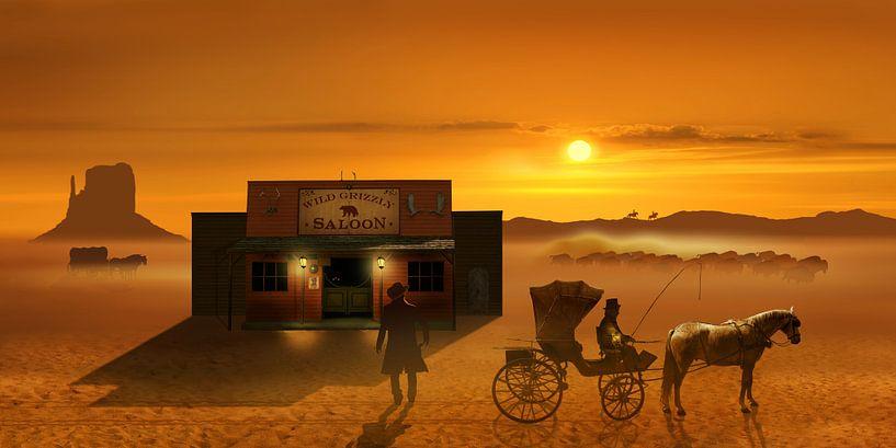 Der Wild-West Saloon  von Monika Jüngling