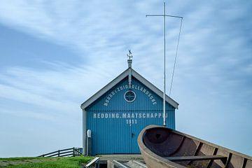 KNRM station Reddingmaatschappij Hindeloopen van R Smallenbroek