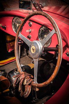 Ferrari cockpit van Michiel Mulder