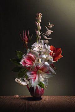Flower Still life Amaryllis Pride van Sandra Hazes