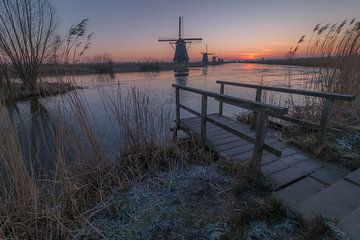 Zonsopkomst Kinderdijk von AdV Photography