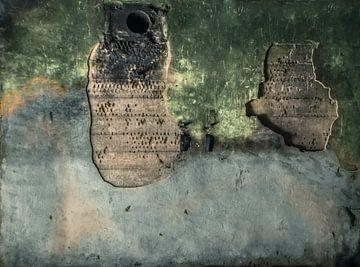 Oude betonnen muur Bunker Fotobehang 8 von