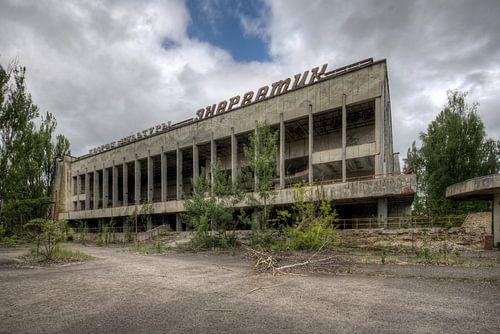 Abandoned van