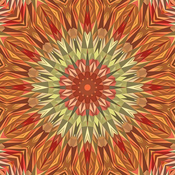 Mandala-stijl 22 van Marion Tenbergen