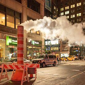 Stoompijp in New York(manhattan) van Erik van 't Hof