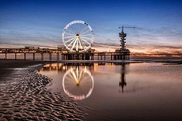 Pier van Scheveningen. von Martin de Bock