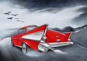 Chevrolet klassieke auto vintage Schilderen