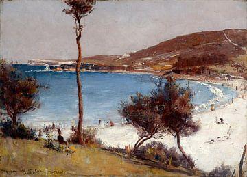 Tom Roberts, Urlaubsskizze in Coogee - 1888 von Atelier Liesjes