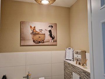 Klantfoto: Hondenfamilie, Shih tzu en Gorki van Wendy van Kuler