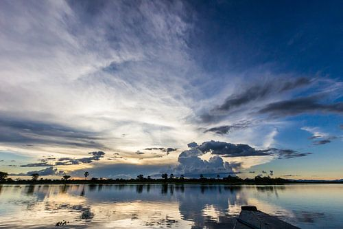 Shire rivier reflectie