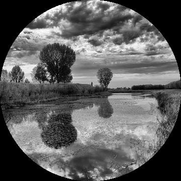Castle moat Loevestein van Rob Schijff
