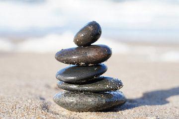 Meditation am Meer von HGU Foto