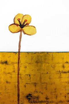 Fleur de mur sur Jacky Gerritsen