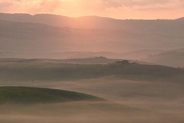 paysage toscan sur Kimberley Jekel